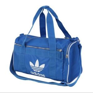 Adidas blue mid-sized duffle bag NWT 💙